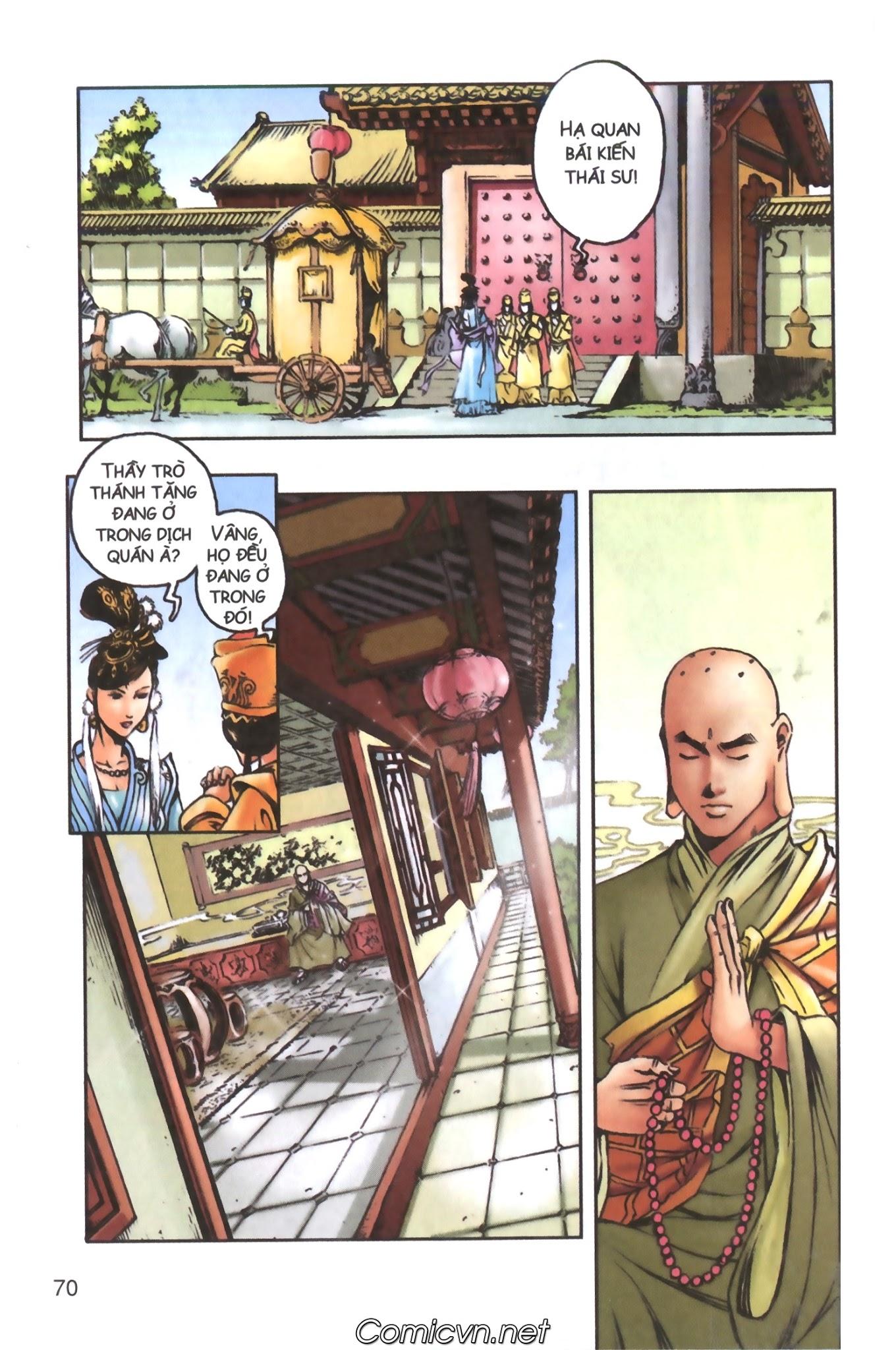 Tây Du Ký màu - Chapter 98 - Pic 1