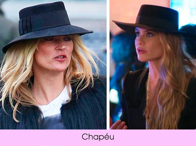 Looks Kate Moss chapéu