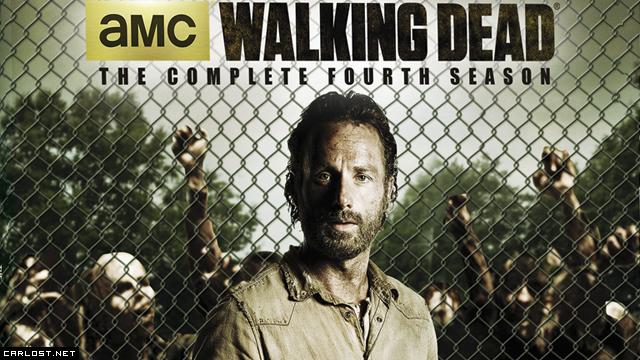 The Walking Dead: DVD & Blu-ray de la Temporada 4 - Identi
