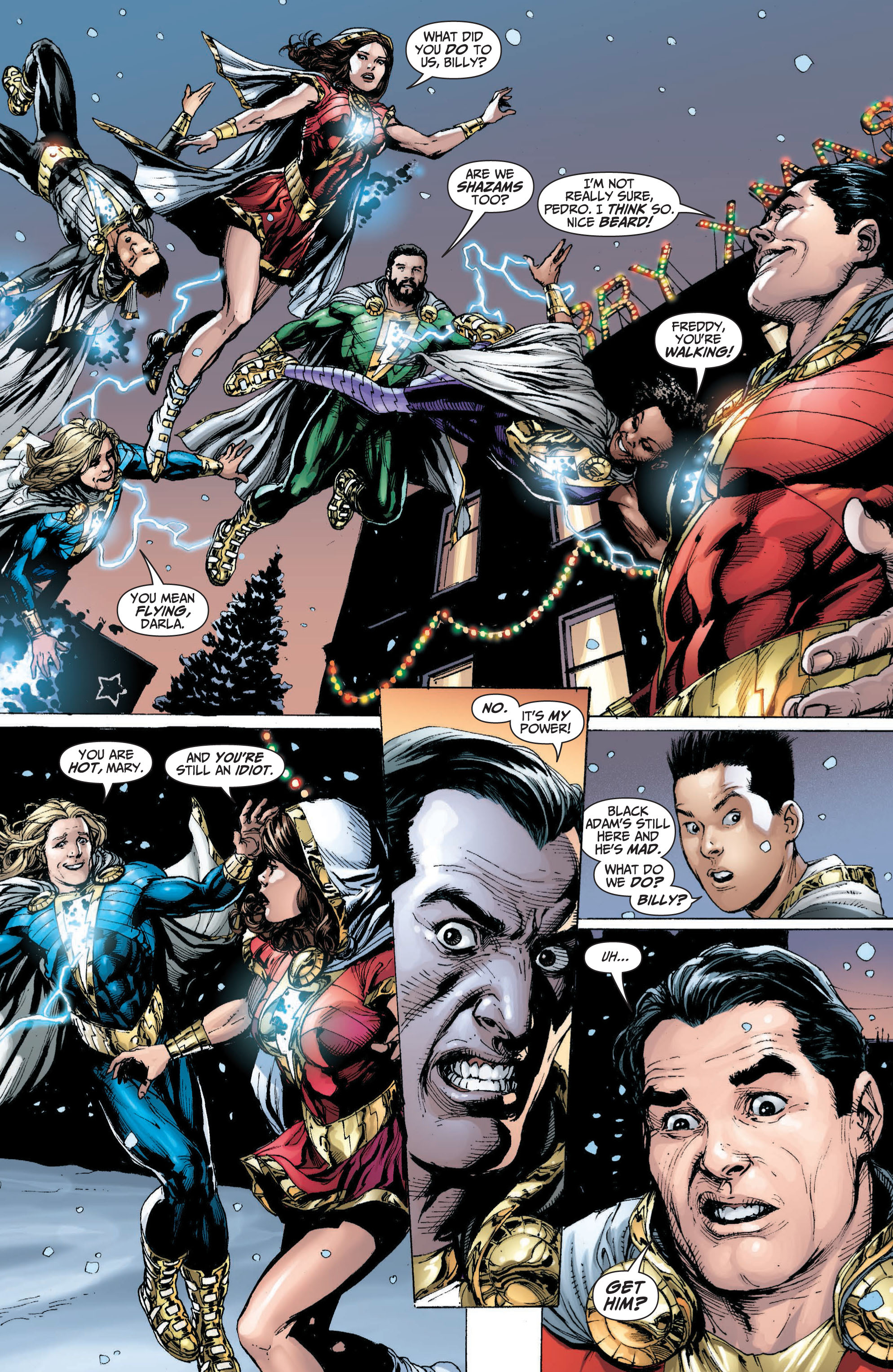 Read online Shazam! (2013) comic -  Issue #1 - 156