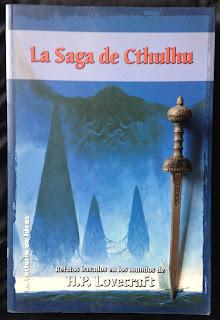 Portada del libro La saga de Cthulhu, de varios autores