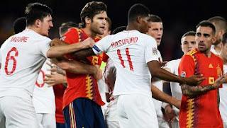 Spanyol vs Inggris 2-3 Full Highlights