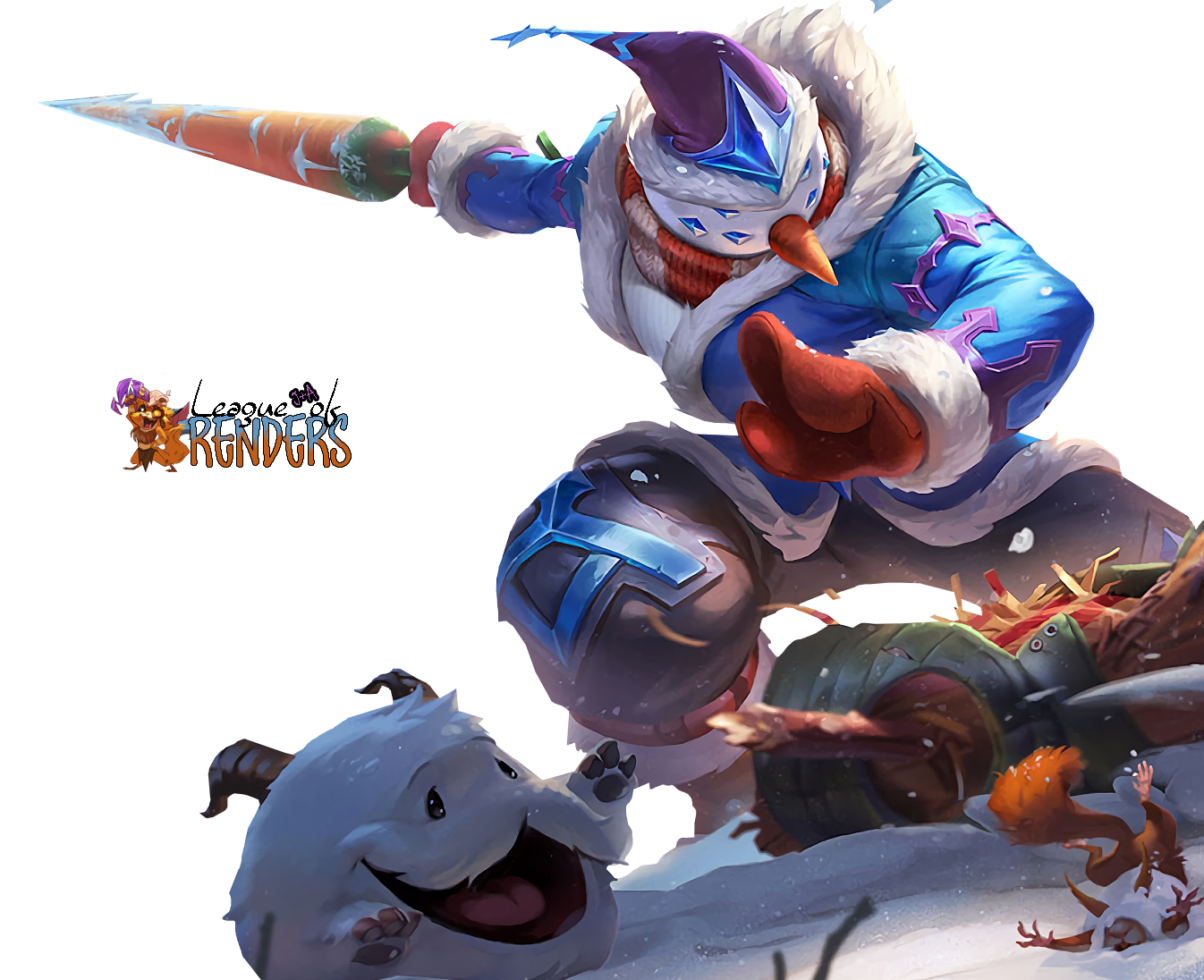 RENDER SNOW MAN YI