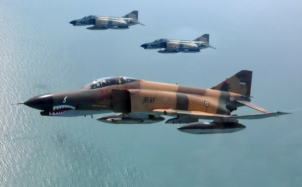 iran f-4 jet fighters