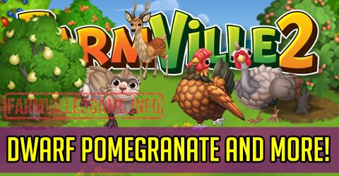Farmville 2 Dwarf Pomegranate