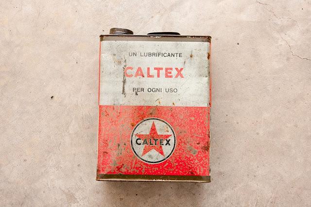 latta olio caltex pulizia acido ossalico