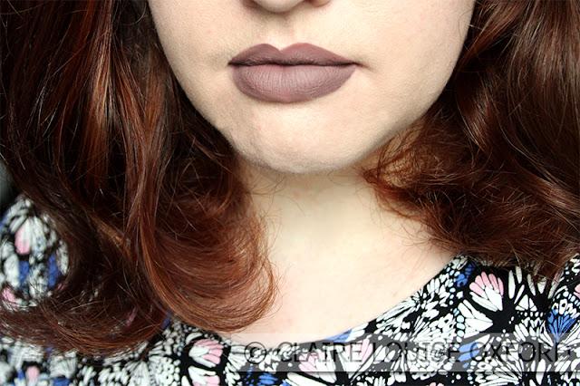 Stronger applicato sulle labbra - Nabla Dreamy Matte Liquid Lipstick