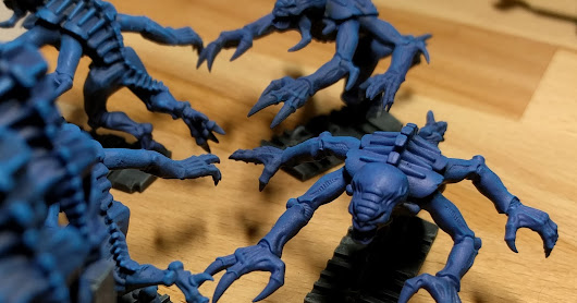 How to paint 23 Genestealers in 3 days
