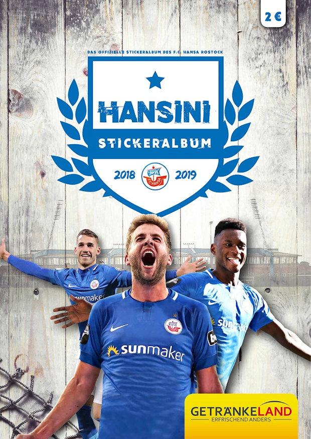 Aufkleber FC Hansa Rostock 2018//19 12 neu Nr