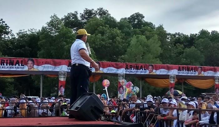 Jika Dipercai Memimpin Lampung Arinal Akan Amanah Dalam Memimpin