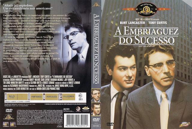 Capa DVD A Embriaguez do Sucesso
