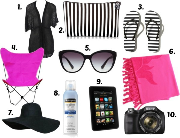 Beach Bag must haves