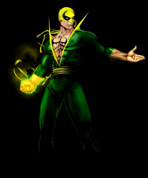 marvel iron fist art