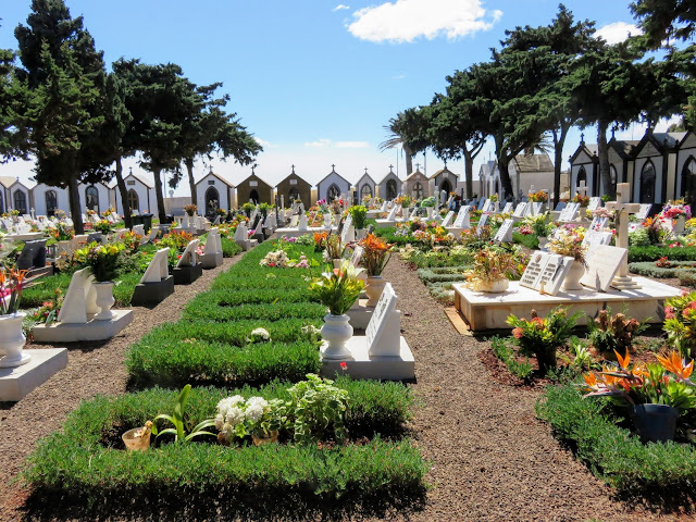 Cemetery near the airport in Funchal, Madeira