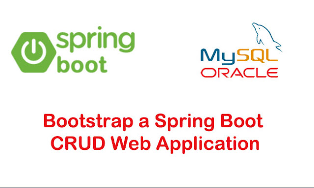 Spring JdbcTemplate CRUD Web Application using Spring Boot, Bootstrap 4 and Mysql