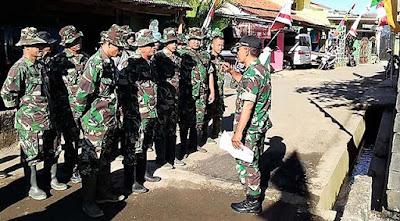 Ploting Pasukan TMMD di Reab RTLH Ditambah