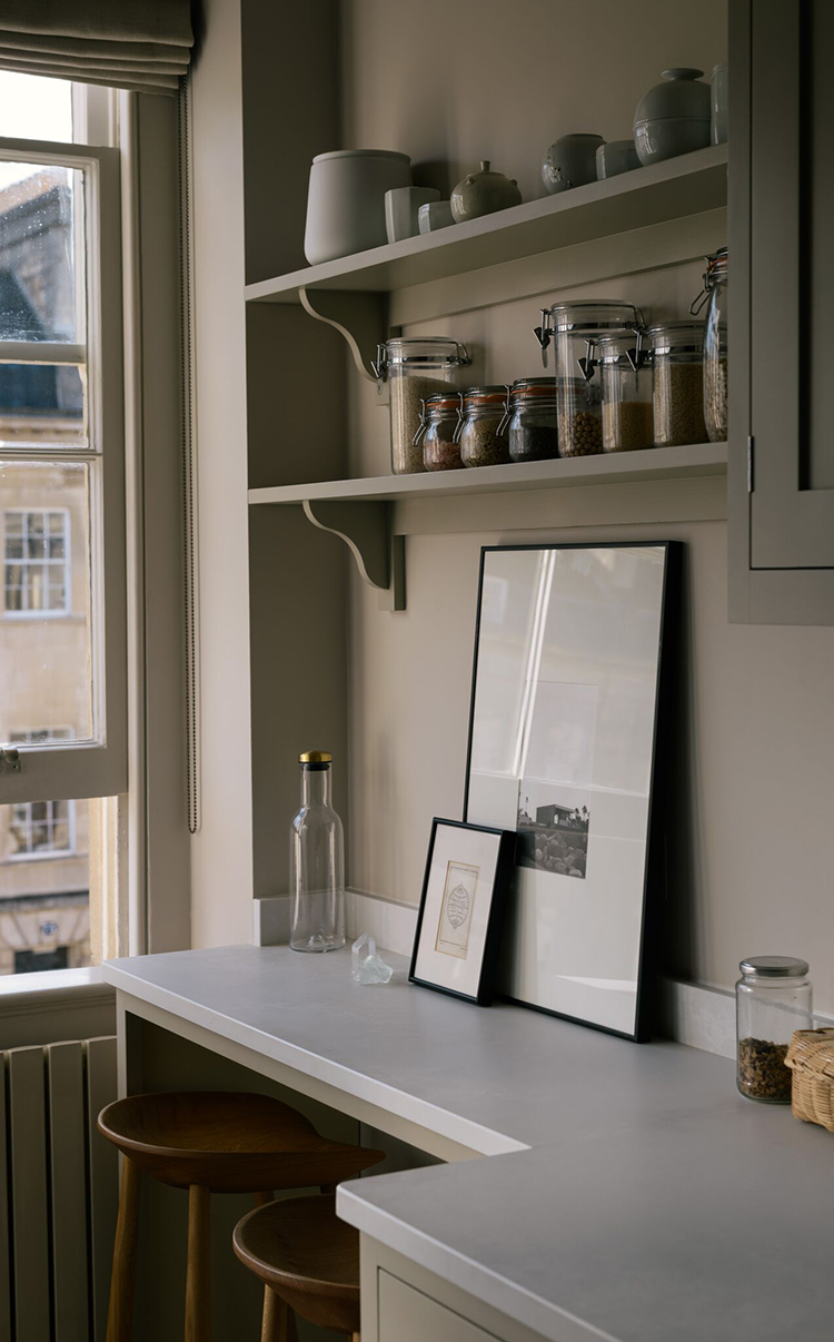 Kitchen Design For Small Narrow Kitchen Small Galley Kitchen With Bespoke Breakfast Nook My Paradissi