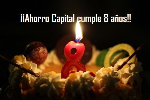 Ahorro Capital cumple 8 años