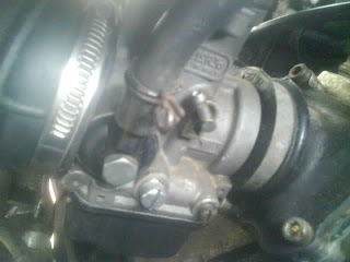 aprilia rs125 jets blocked ?  carb cleaning