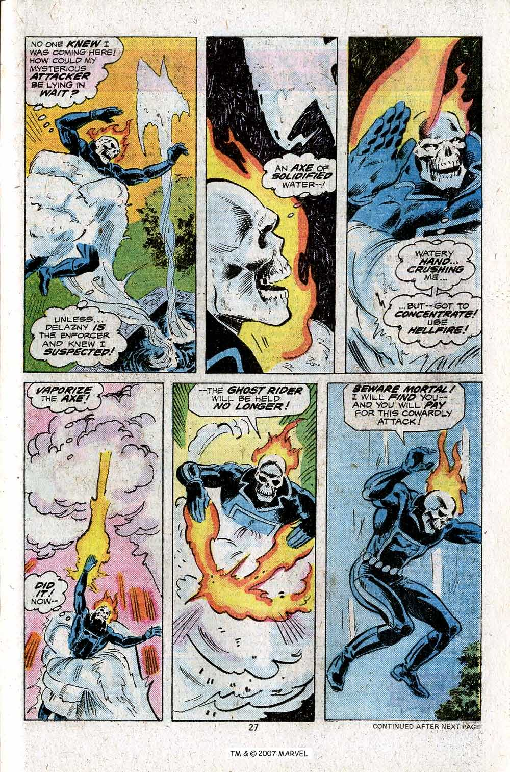 Ghost Rider (1973) Issue #23 #23 - English 29