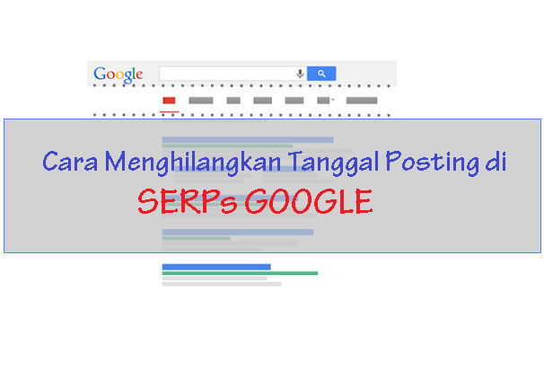 Cara Menghilangkan Tanggal Posting di SERPs