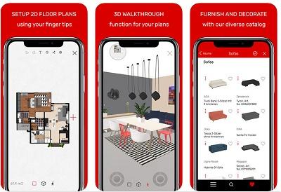 aplikasi mendesain ruangan di rumah