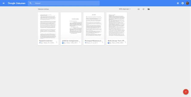 Google Docs Dokumen Screenshot
