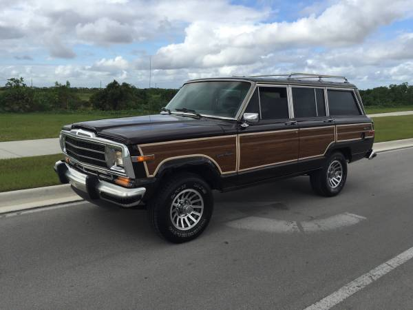1989 jeep grand wagoneer for sale 4x4 cars. Black Bedroom Furniture Sets. Home Design Ideas