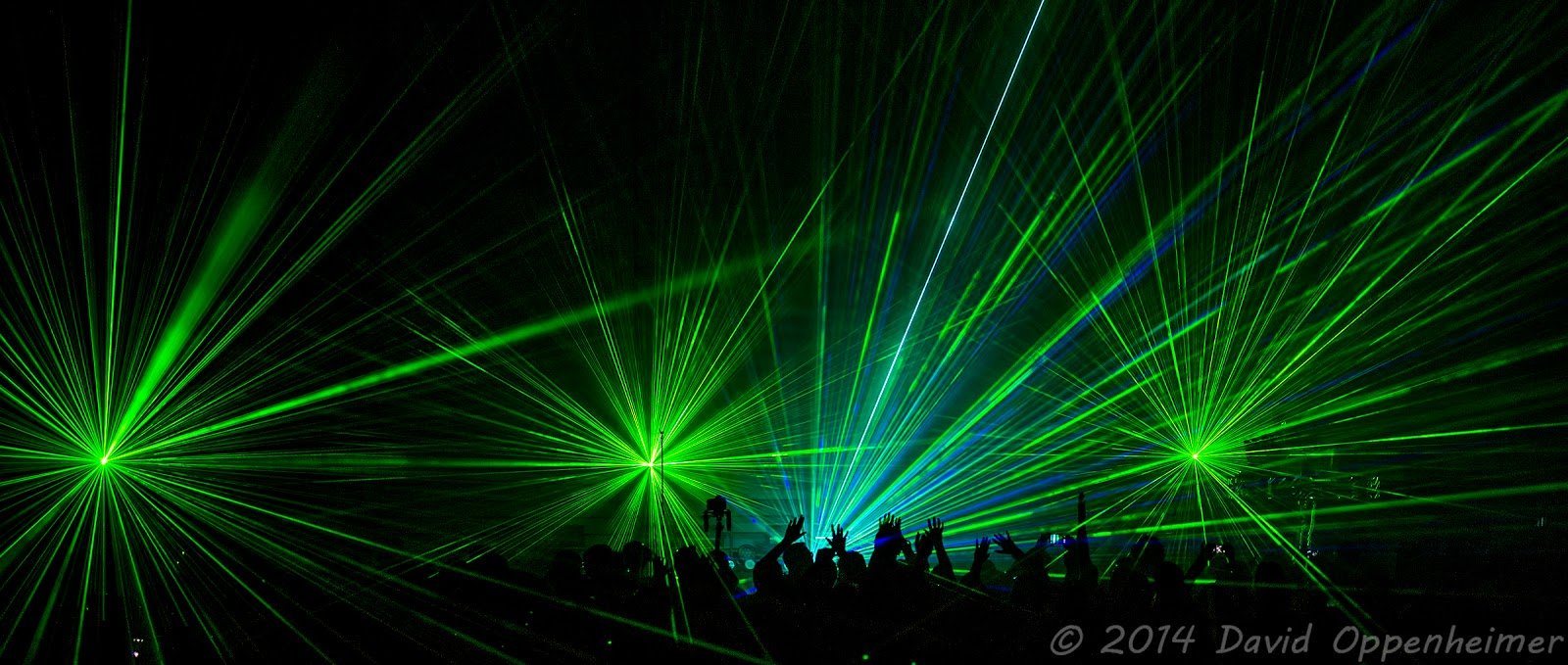 Laser Lights During The Pet Shop Boys