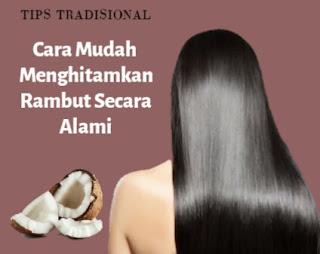 cara menghilangkan rambut beruban
