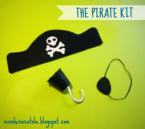 Sono o non sono il capitano uncino nuvole in scatola - Pirata colorazione pirata stampabili ...