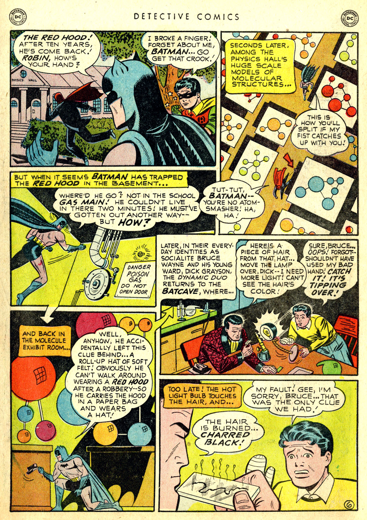 Read online Detective Comics (1937) comic -  Issue #168 - 8