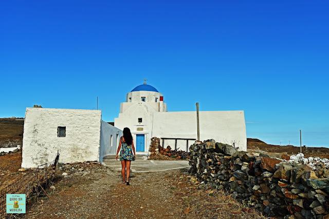 Agia Triada, isla de Serifos (Grecia)