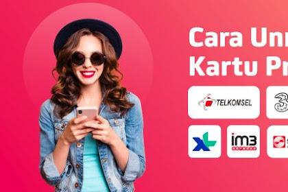 Cara Unreg Kartu Telkomsel, Indosat Ooredoo, XL, Axis, Tri dan Smartfren