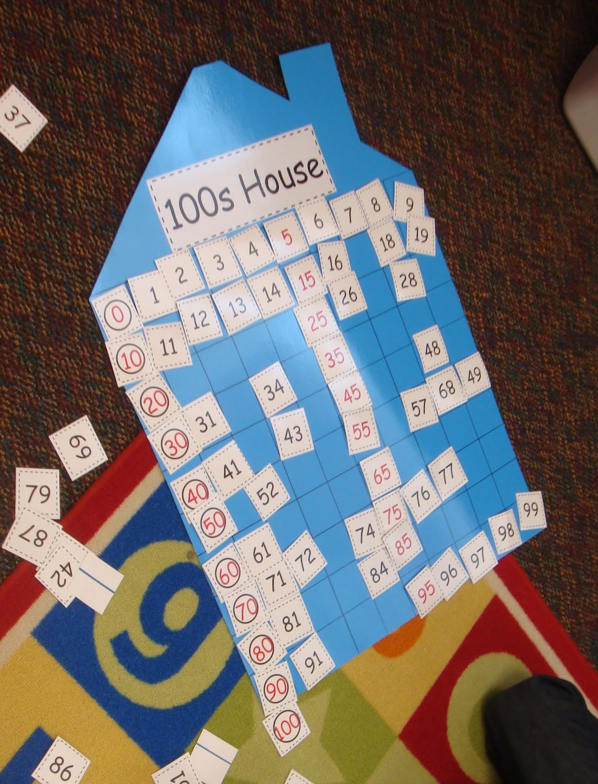 Wild About Teaching 100th Day Of School Number Cards 0 100