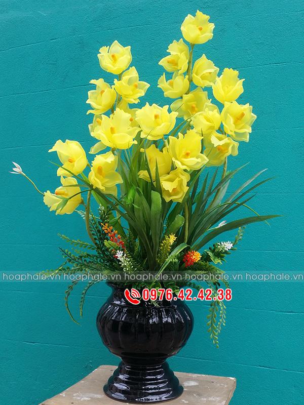 Hoa tulip vàng - Hoa pha lê