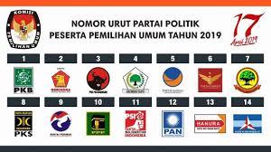 Partai baru di pemilu 2019 . siapkah berkompetisi sehat