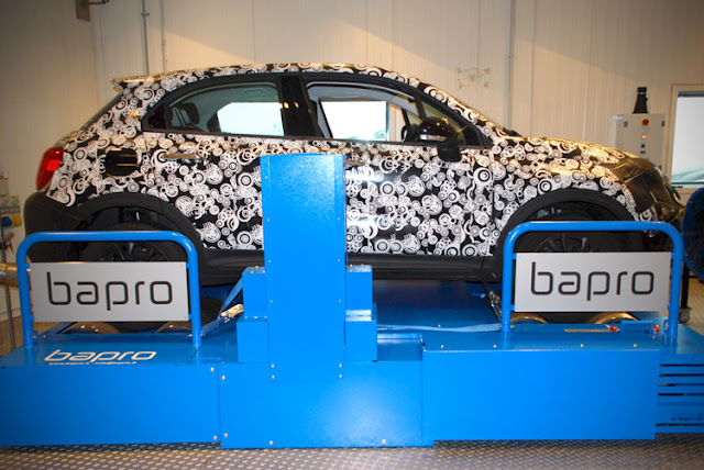 bapro awd magneti marelli dyno test chassis test bench