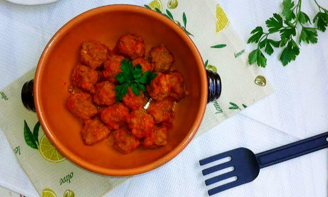 гарбузяні котлети в томатному соусі