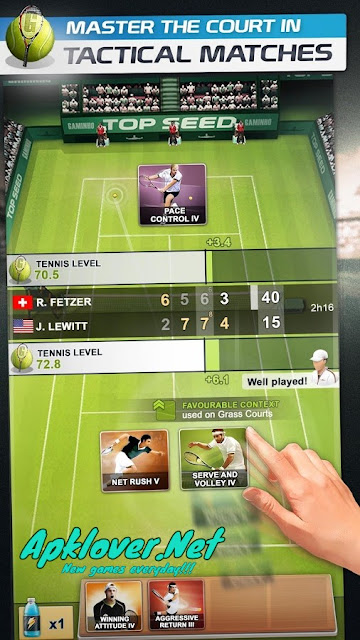 Tennis Manager MOD APK unlimited money