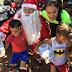 Campanha Natal Solidário da PM atende centenas de crianças no Sol Nascente, em Ceilândia