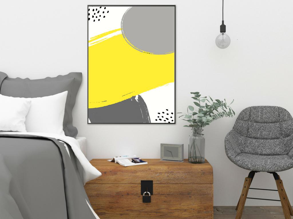 żółte Plakaty Do Samodzielnego Wydruku Plakatówka