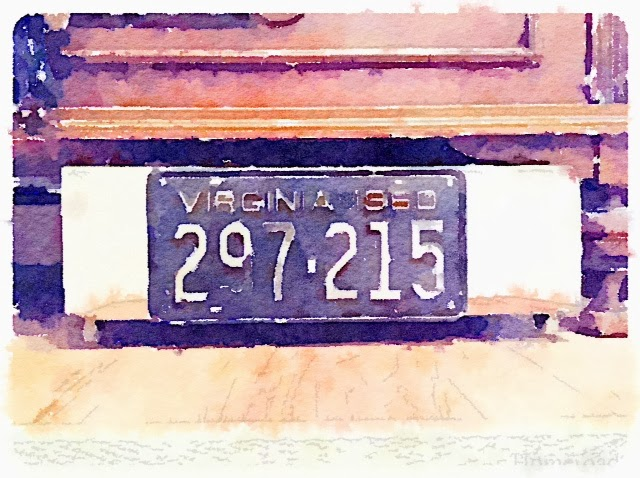 Five Repurposed License Plates Projects