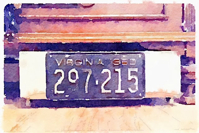 Five DIY Vintage License Plate Projects