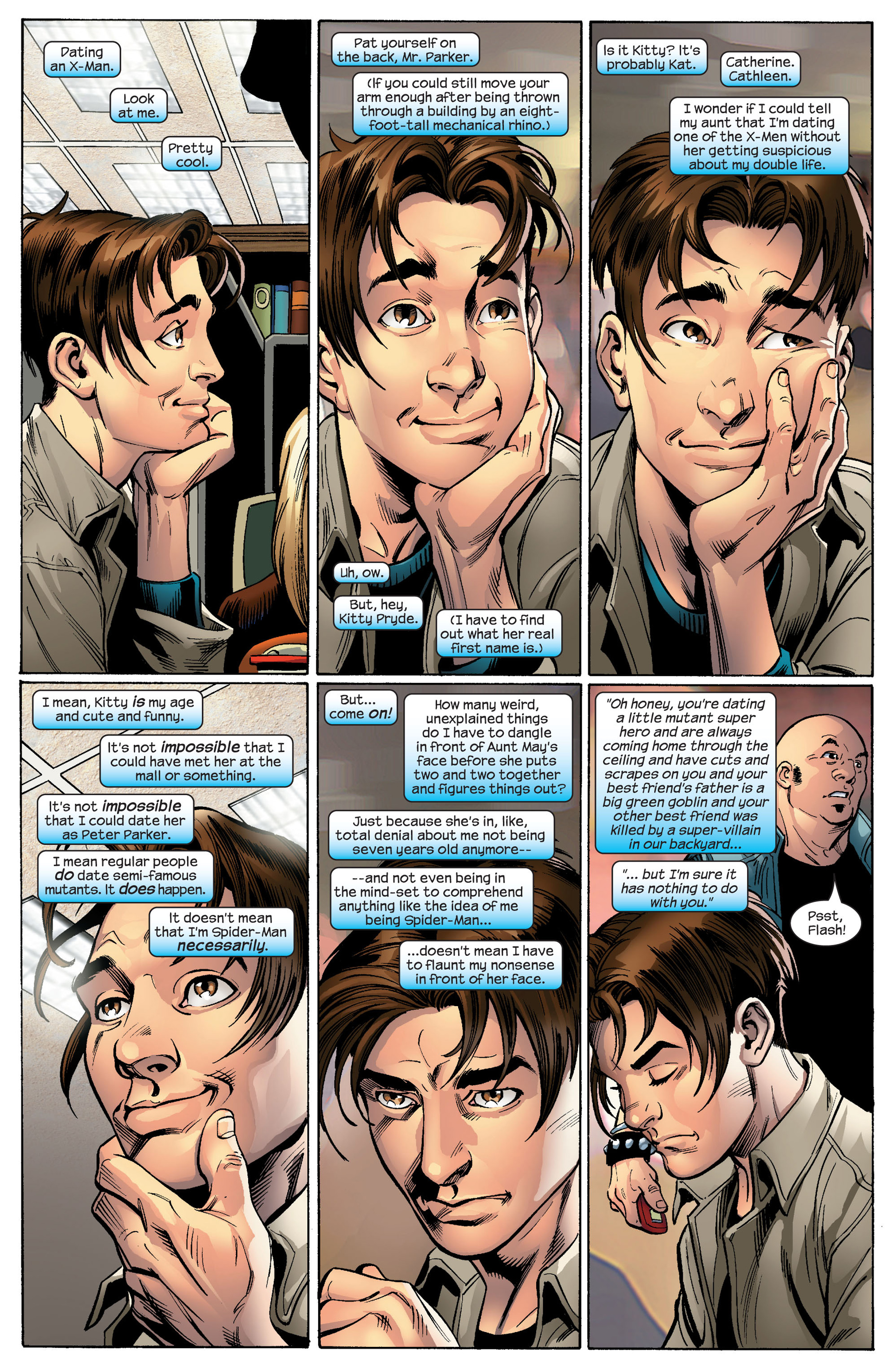 Read online Ultimate Spider-Man (2000) comic -  Issue #87 - 4