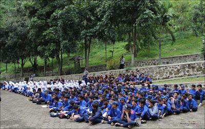 Siswa Siswi Kelas 7 SMPN 2 Cipatat, Kab. Bandung Barat