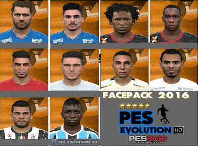PES 2016 Facepack #`16 by Lucas Facemaker