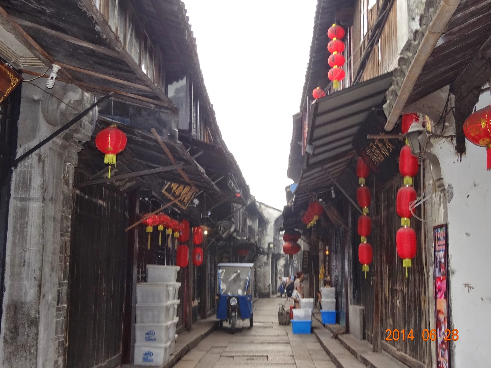 H&D幸福小屋: 2014上海.浙江自由行(62)西塘古鎮景點(六)西園,環秀橋