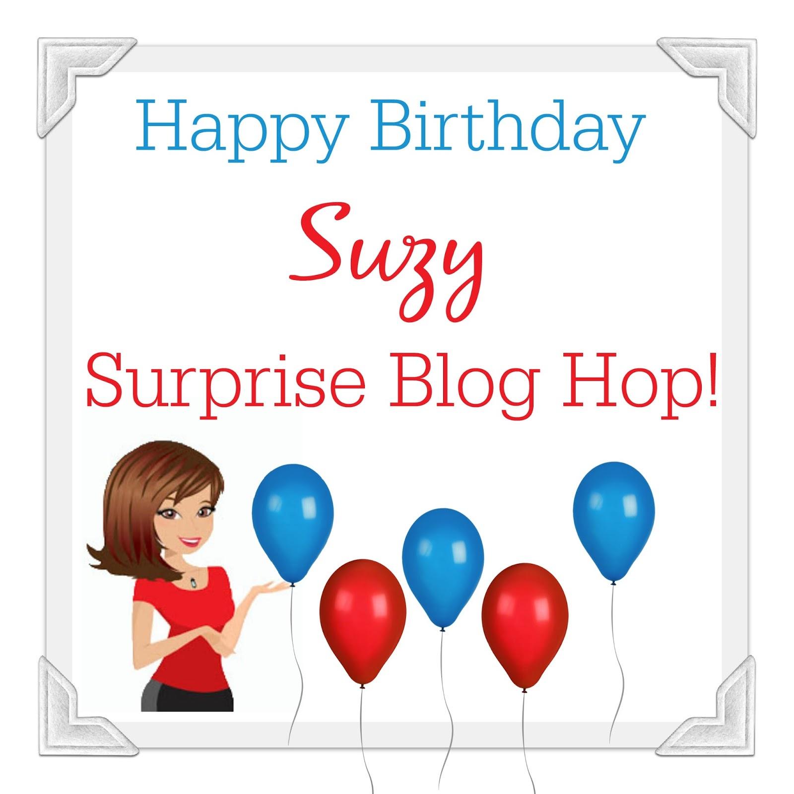 Caffeinated Papercuts: Happy Birthday Suzy