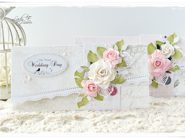 Wedding cards - Wild Orchid Crafts DT and free digi :)